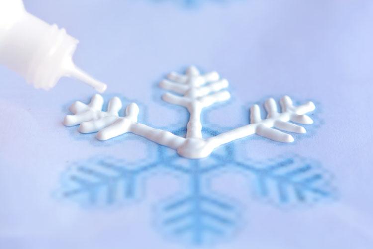 Winter Window Snowflakes