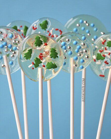 Cute Holiday Lollipops