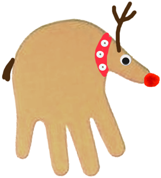 DIY Handy Reindeers