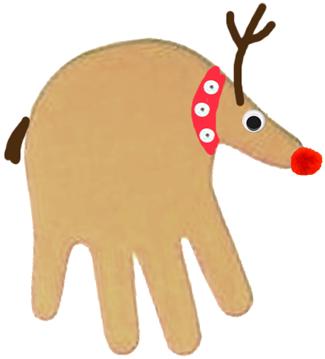 DIY Handy Reindeers
